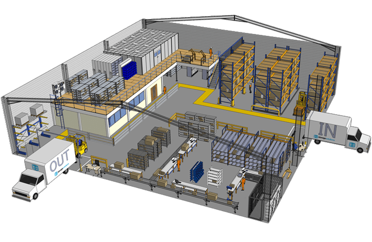 Industrial Storage 3D Overview