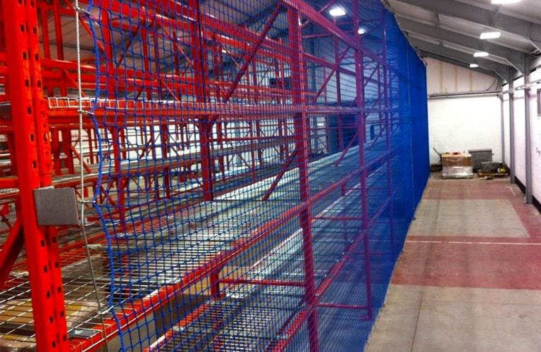 Back of Pallet Rack Netting