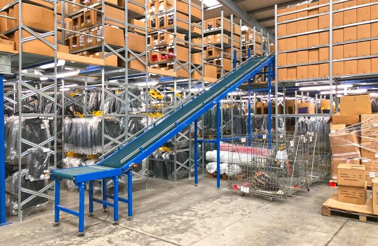 Warehouse Automation Conveyor System