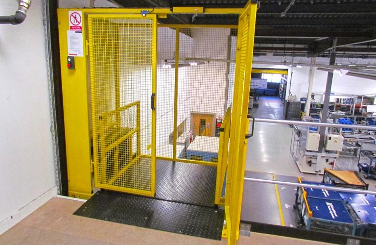 Mezzanine Floor Goods Platform lift