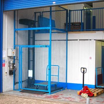 Loading Bay Hydraulic Lift