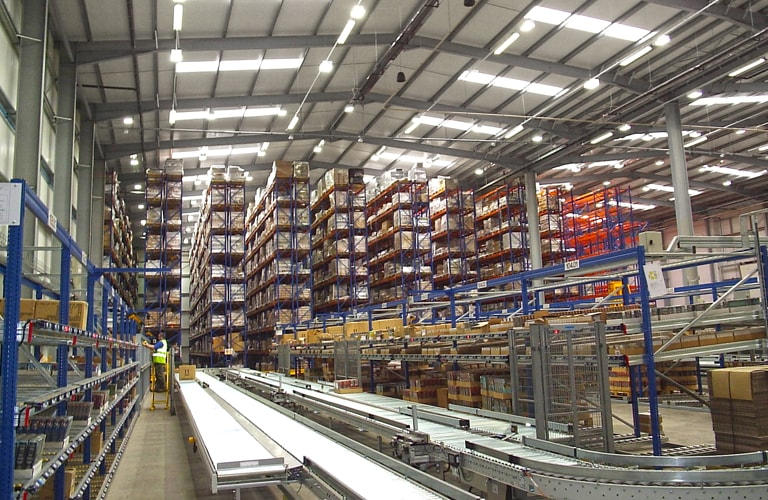 Warehouse Conveyor Solution automation