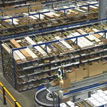 Carton Live Storage Warehouse