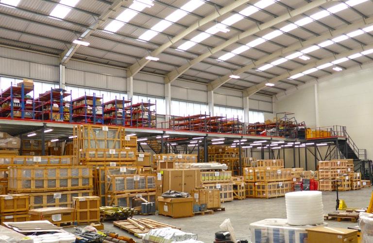 Mezzanine Floor Installation by T2 Storage Solutions UK