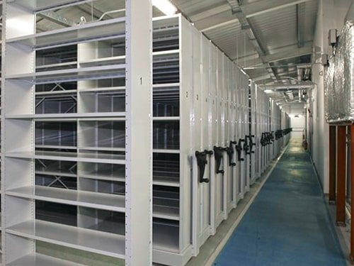 Archive Shelving Installation