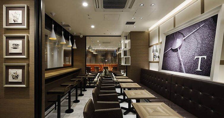 Cafe Fit Out Example