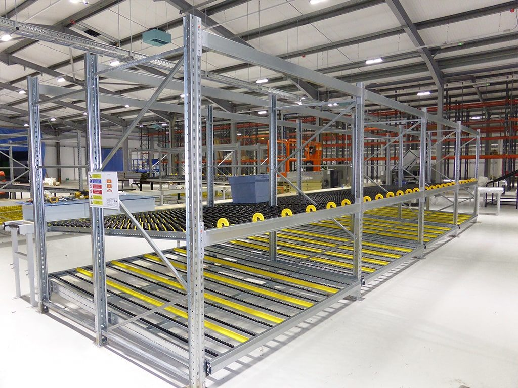 Dynamic Storage Shelving