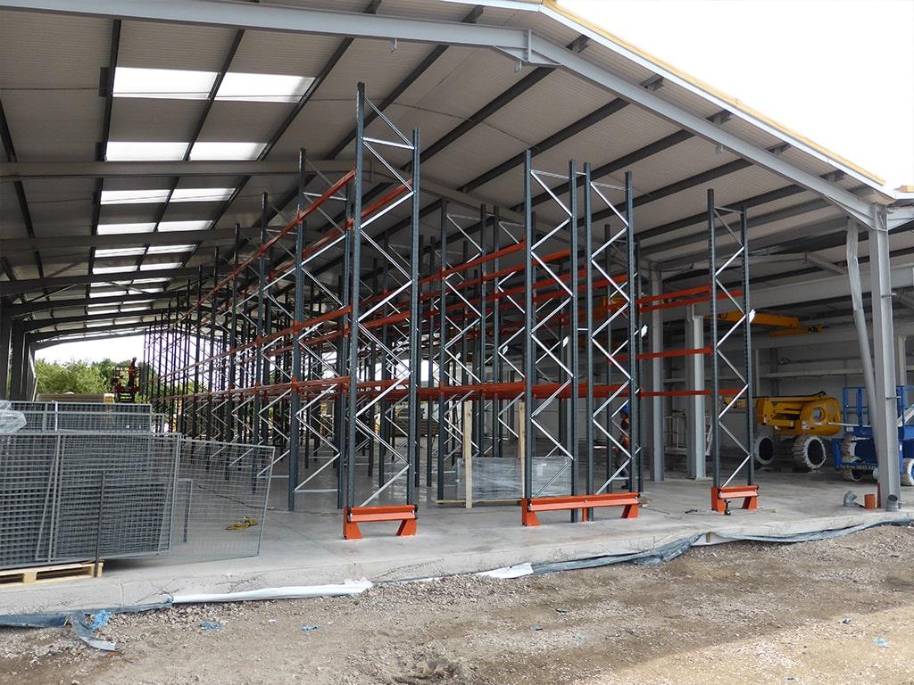 Nottingham Pallet Racking Installation