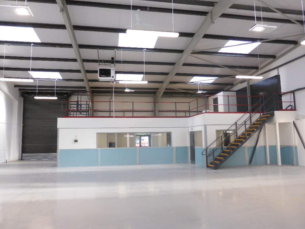 IN'n'OUT basingstoke Mezzanine Floor