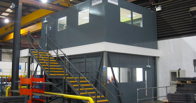 Double Skin Steel Partition Office