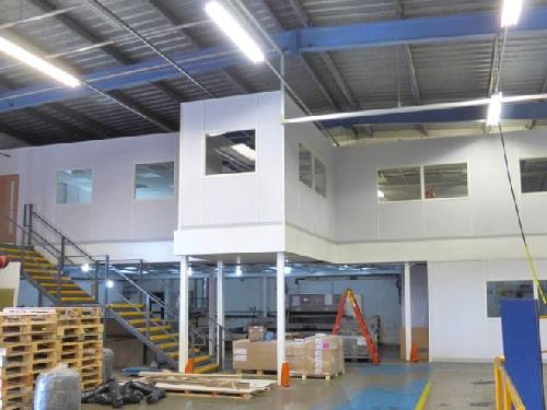 Office on Mezzanine Flooring
