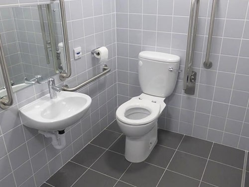 Warehouse Toilet Installation