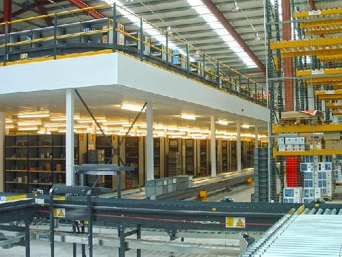Production and Manufacturing Mezzanine Floors