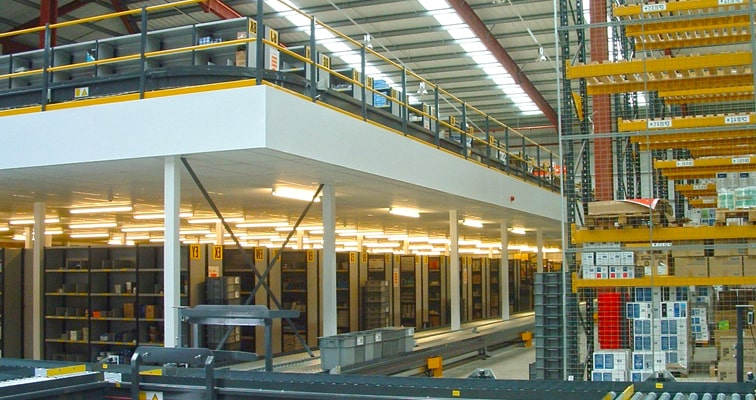 Manufacturing and Production use Mezzanine Floor