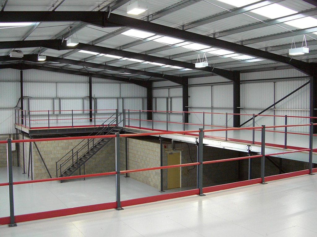 Sheffield Mezzanine Floor Installation