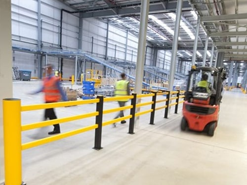 Factory Warehouse Safety Barrier