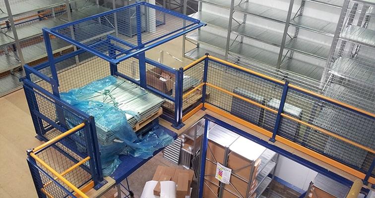 Safety Pallet Gate Installation