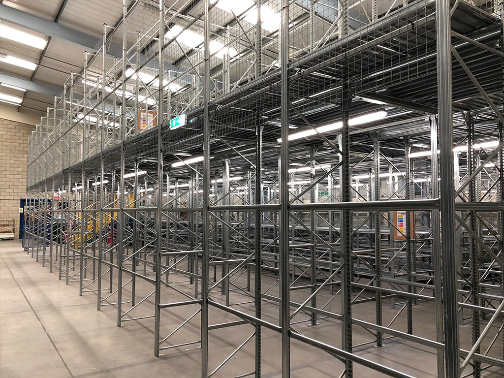 Double Tier Racking Storage