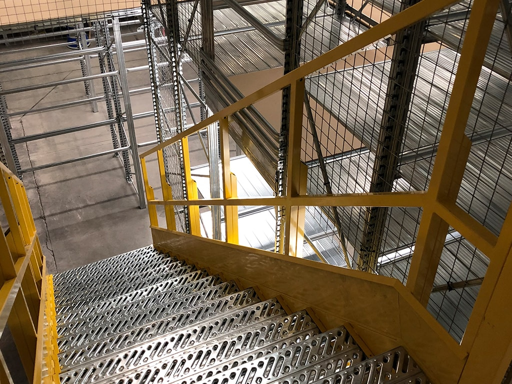 Bespoke Unirack Staircase
