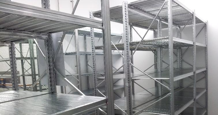 UK Shortspan Shelving Installation