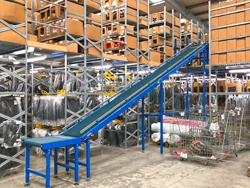 Warehouse Storage Automation
