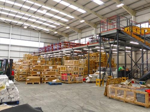 Storage use Secondary Warehouse Floor