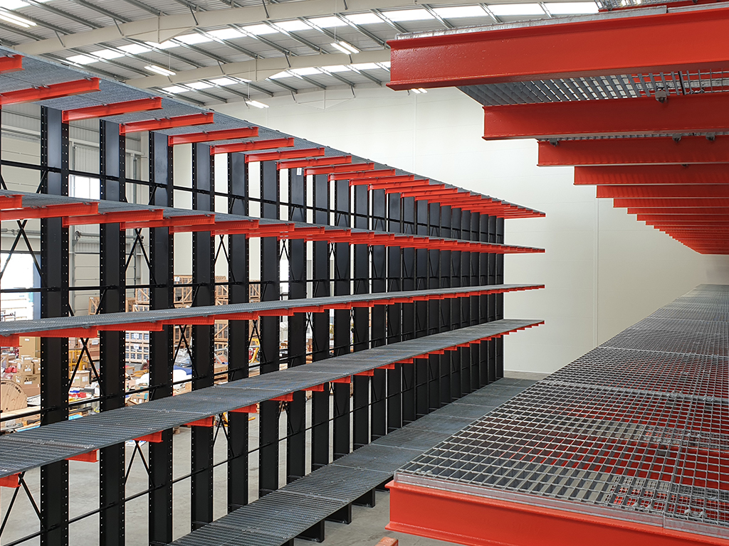 Industrial Heavy Duty Cantilever Racking