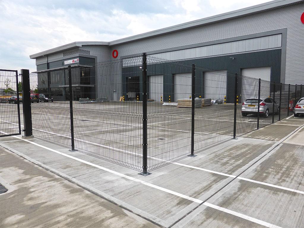 Mitsubishi External Fencing