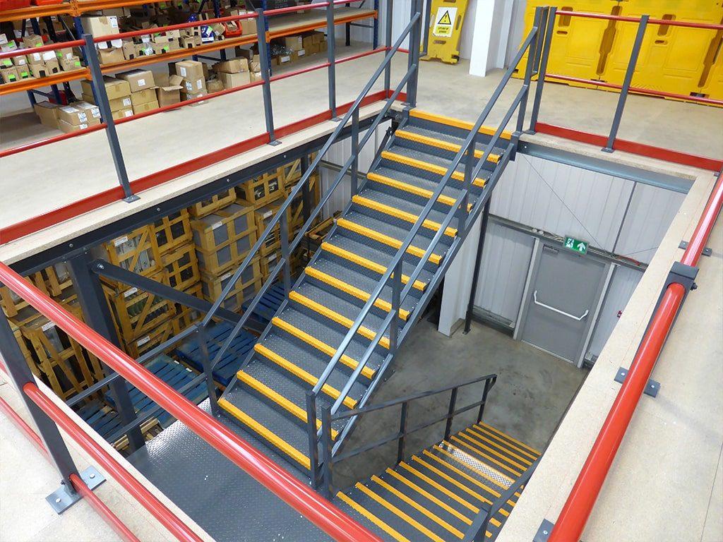 Mitsubishi Steel Staircase