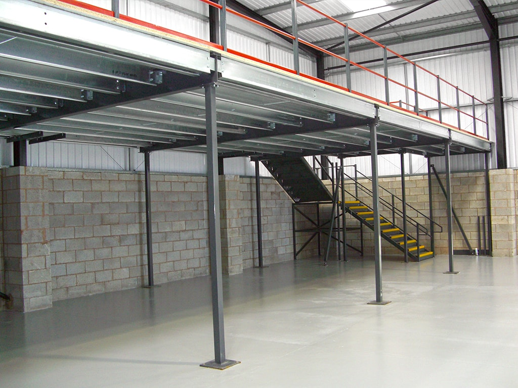 Under Mezzanine Installation Sheffield
