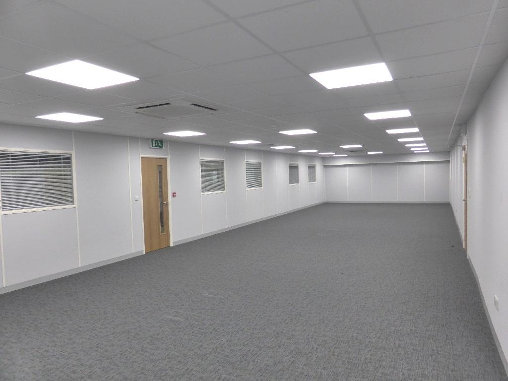 Inside Mezzanine Office Sheffield