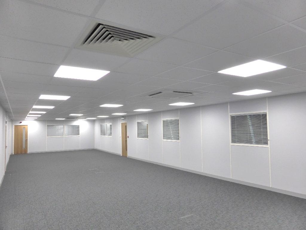 Mezzanine Office Electrical Works in Sheffield