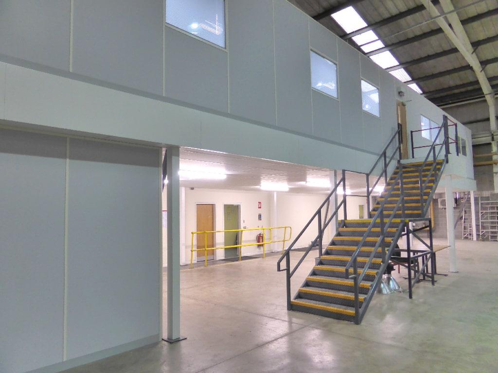 Sheffield Mezzanine Office Staircase