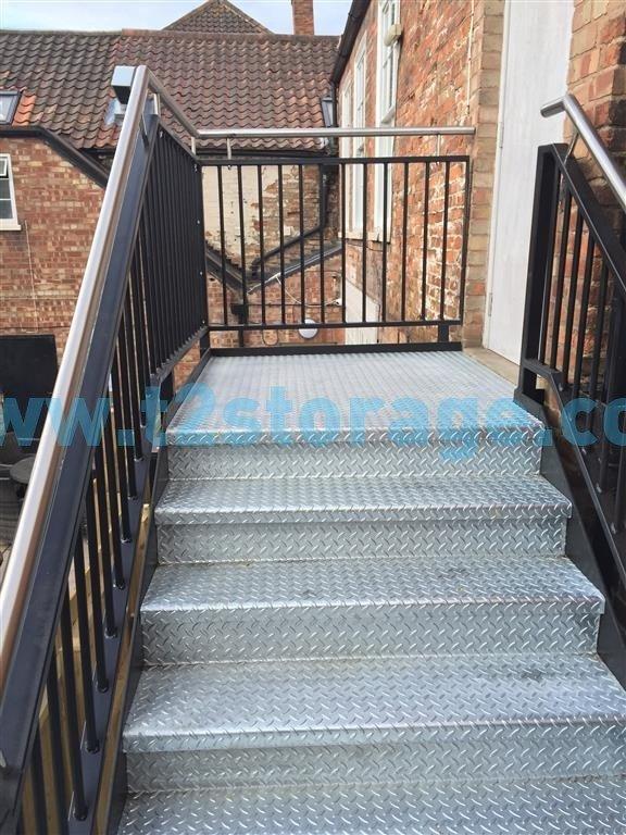 Nottingham Bespoke Steel stair