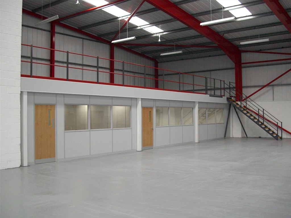 Mezzanine Floor Installation in Bulwell