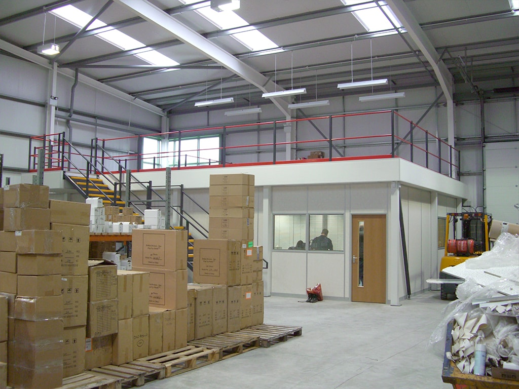 Storage and Office Use Mezzanine Floor Walsall
