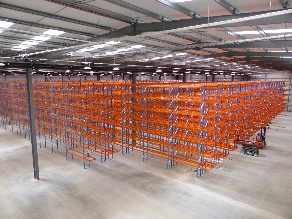 Large Warehouse Racking