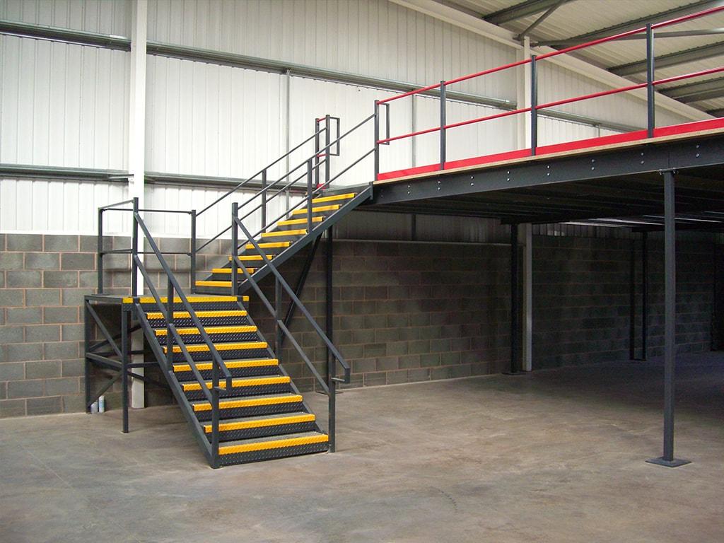 Mezzanine Floor Stair Staffordshire