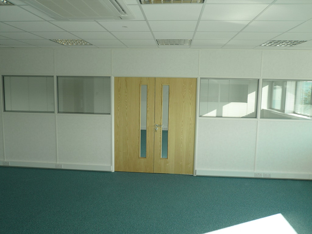 Milton Keynes Mezzanine Partitioning and Doors