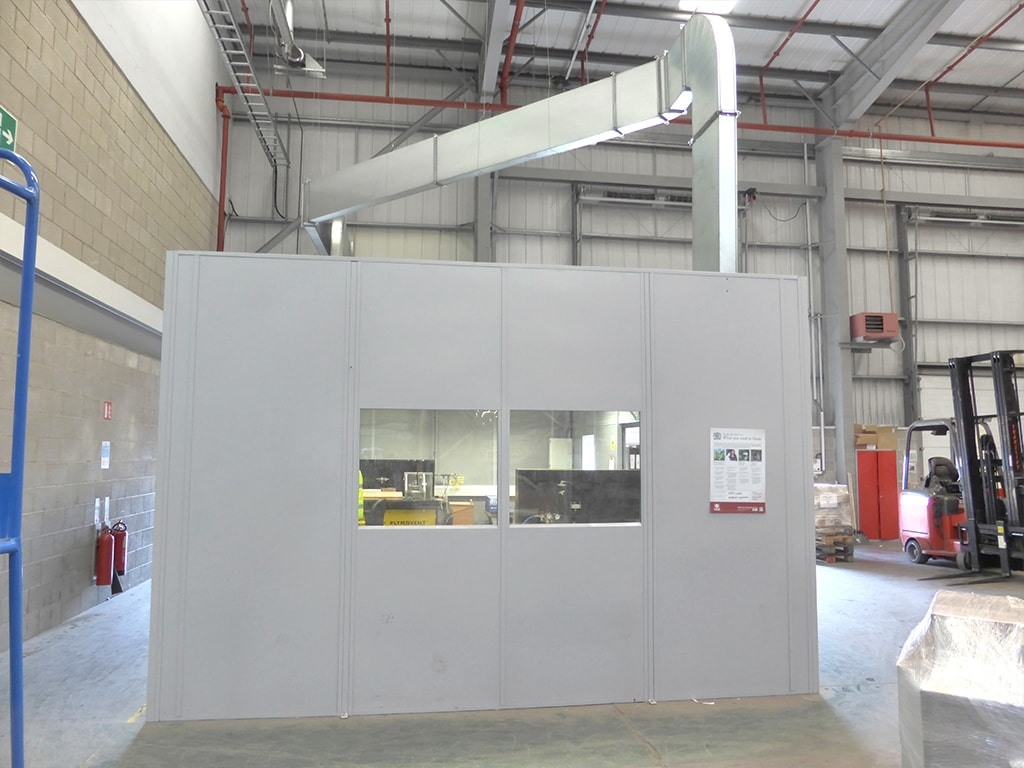 Warehouse Office Partitions