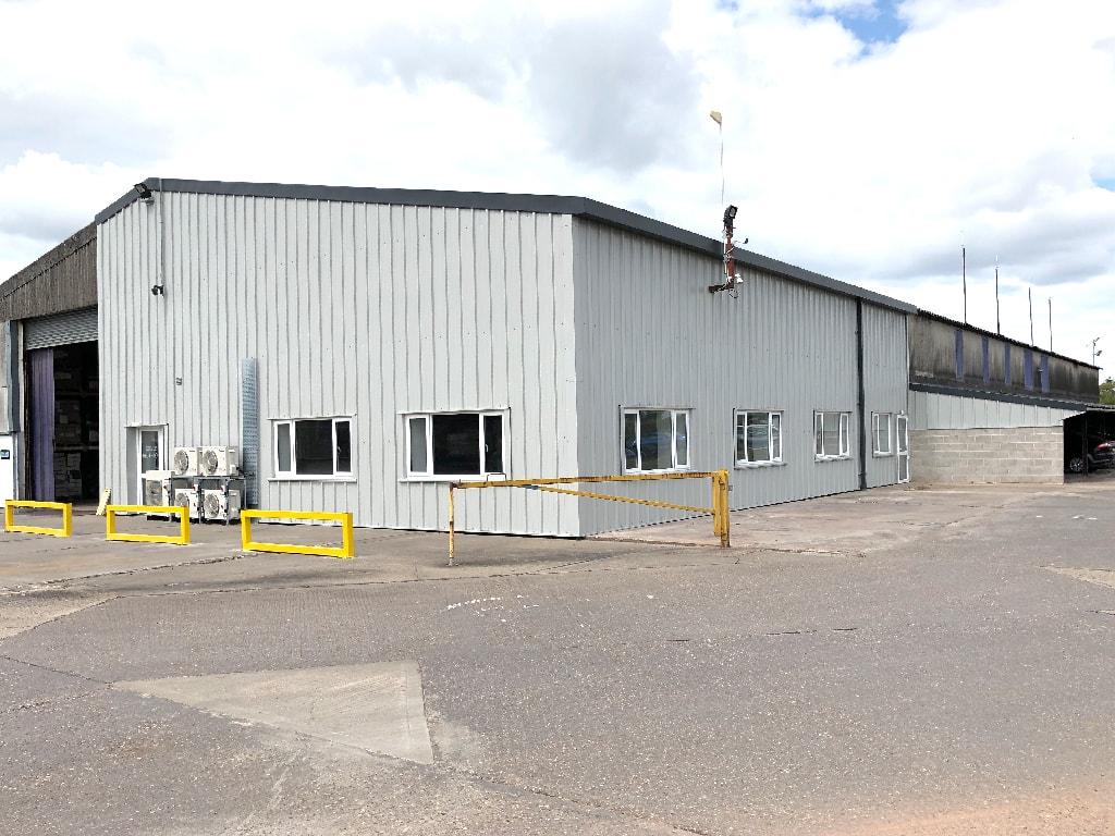 Warehouse Cladding in Nottingham
