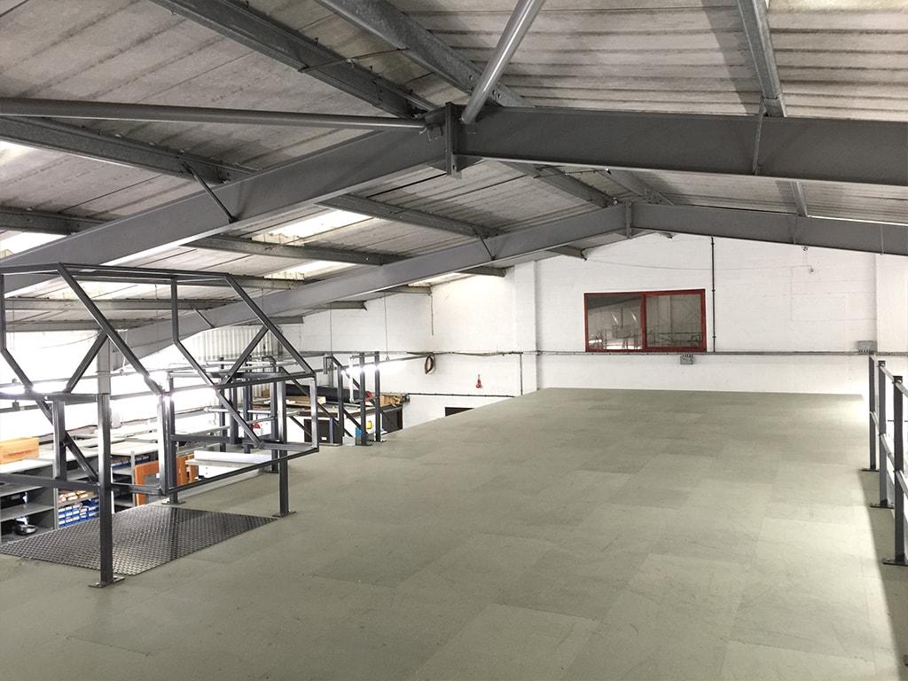 Lincolnshire Mezzanine Floor Installers
