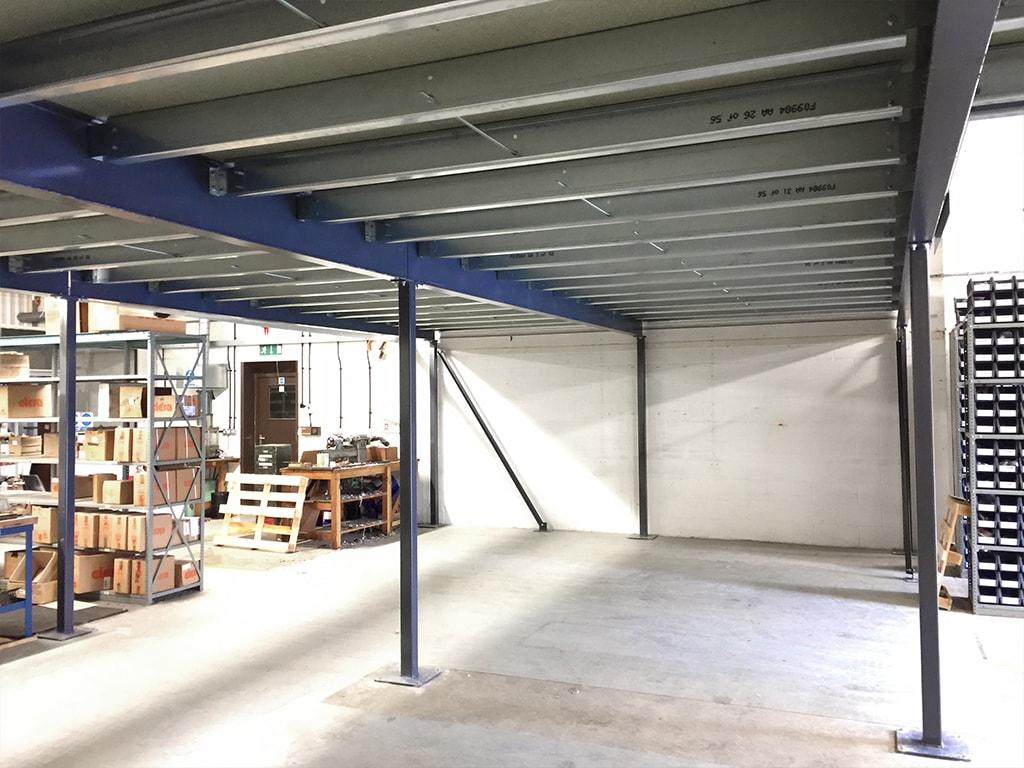 Lincolnshire under Mezzanine Floor
