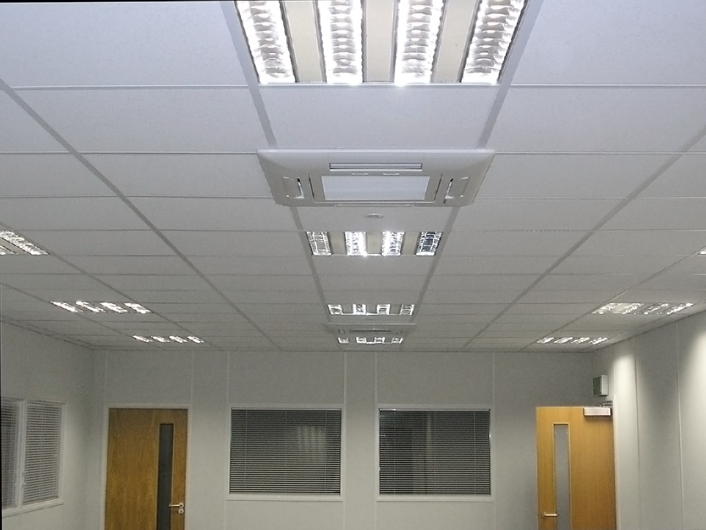 Mezzanine Air Conditioning Installation