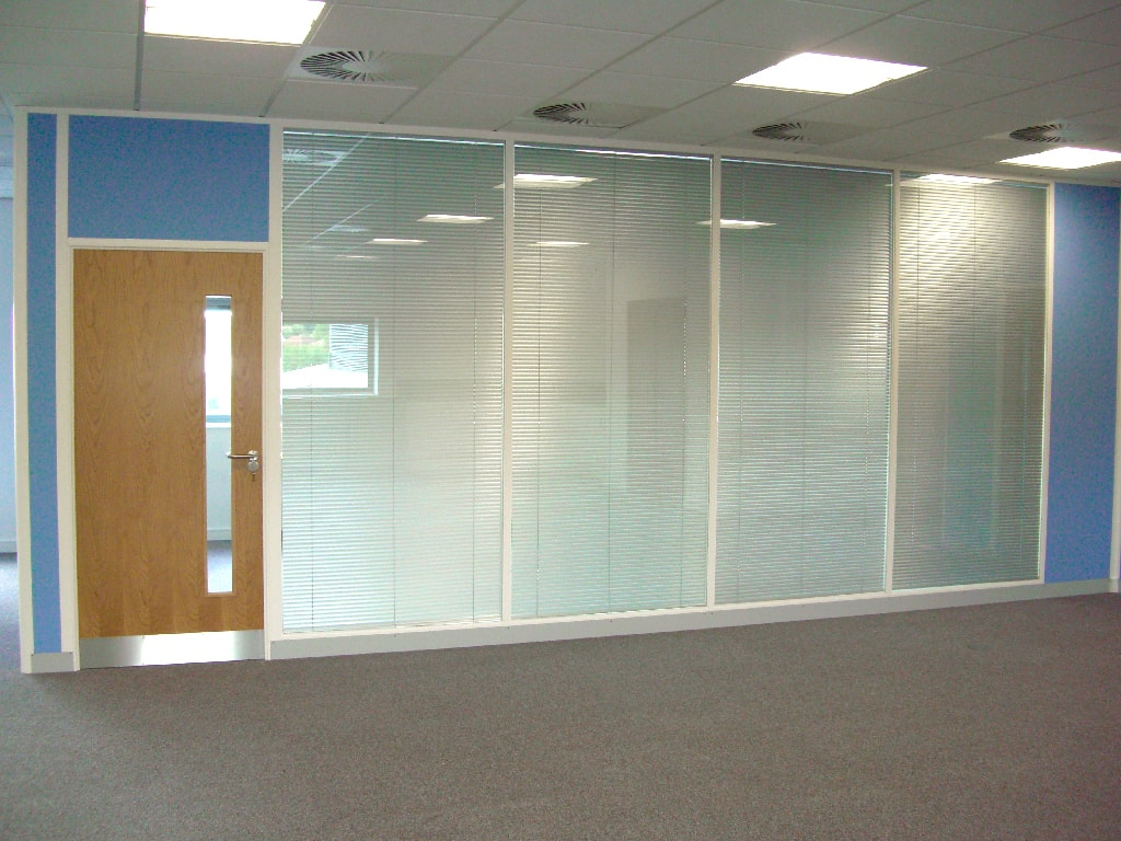Office Blinds Partitions