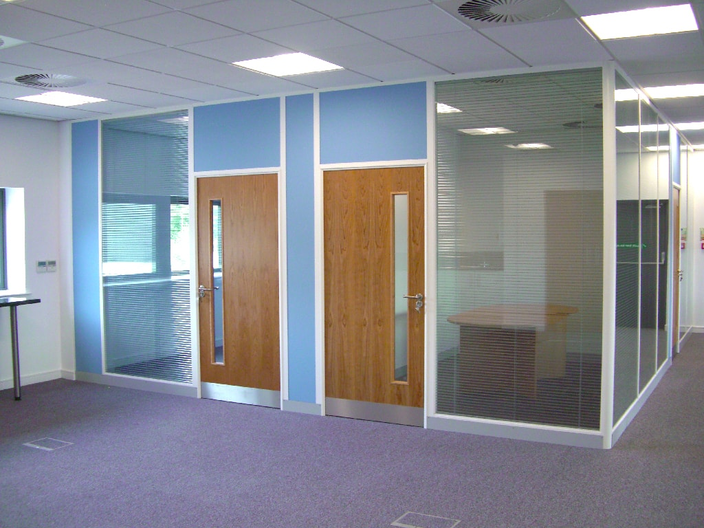 Mansfield Office Partitions Installation