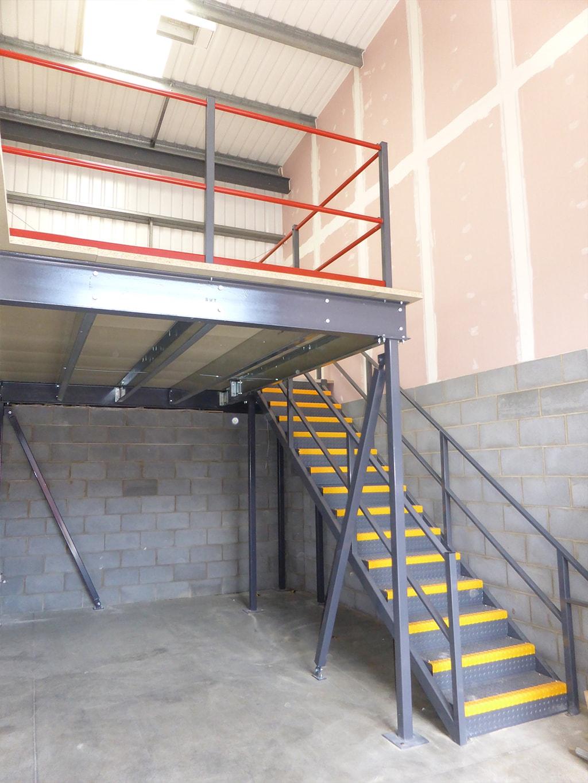 Newark Mezzanine Floor Installation