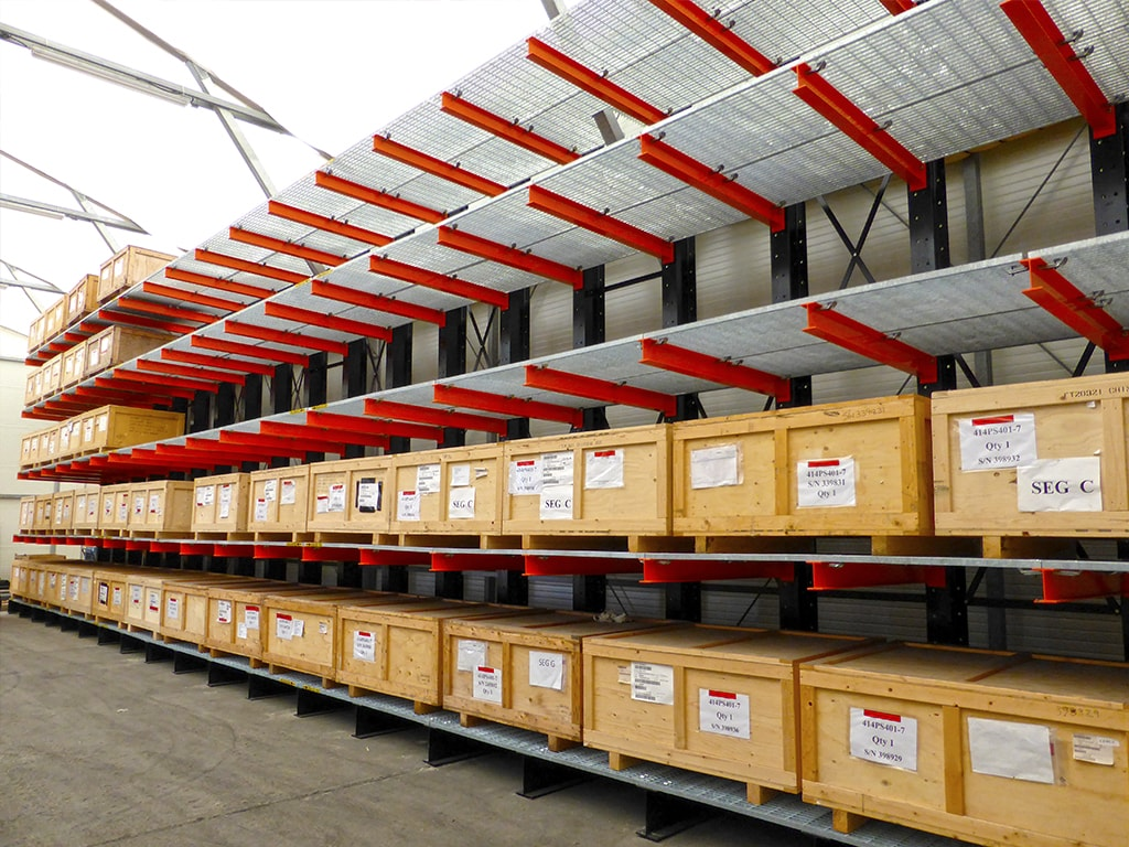 Heavy Duty Pallet Racking System