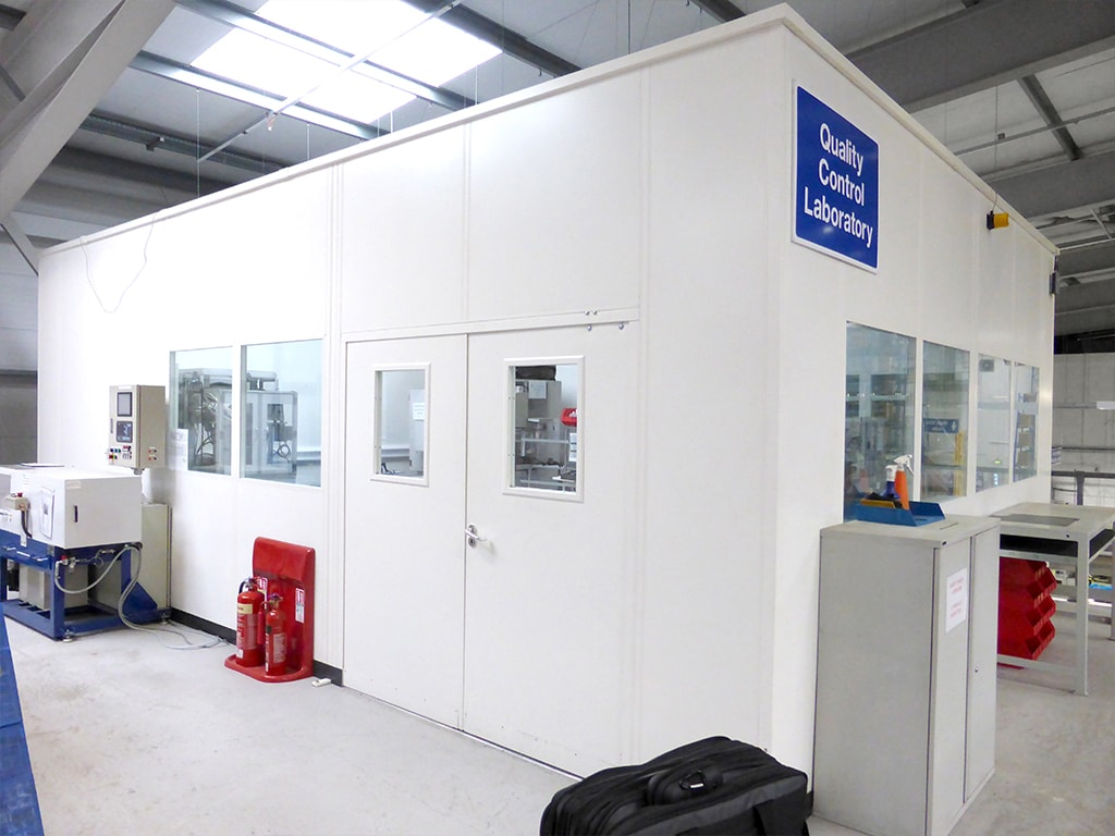 Factory Quality Control Room Installation