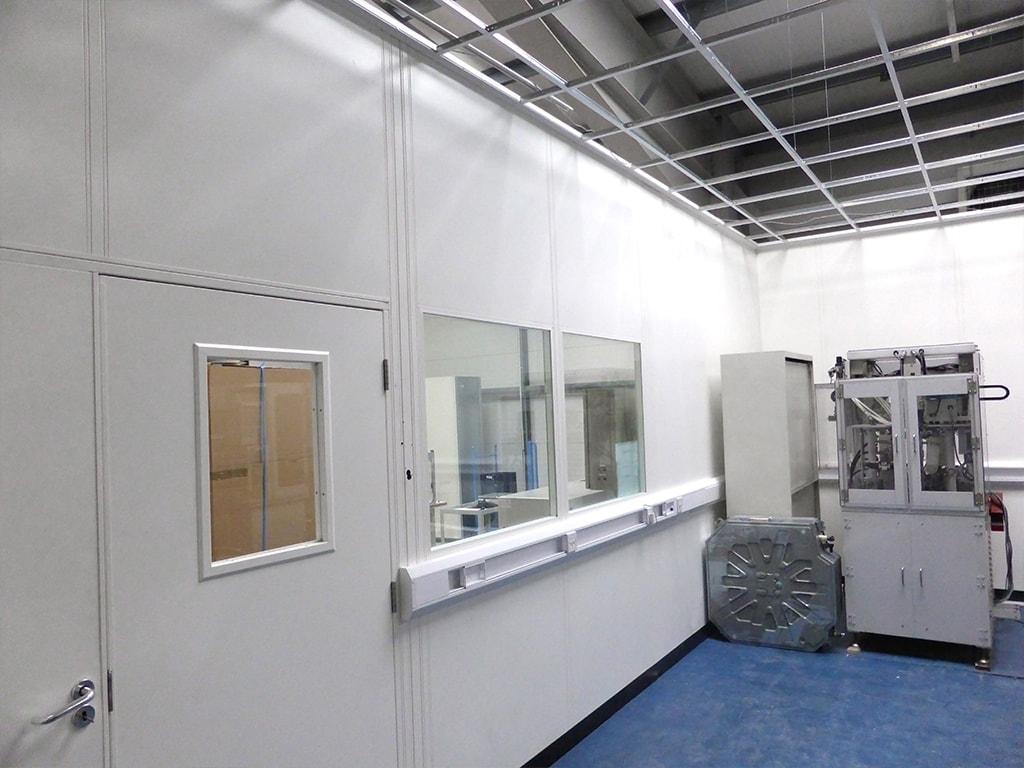 Factory Mezzanine Floor Office